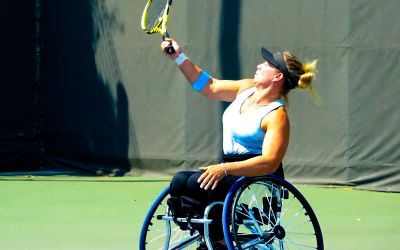 Jordanne Whiley and Lucy Shuker celebrate double title success at Busan Open
