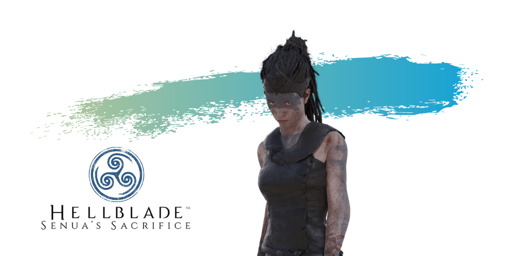 Senua from the video game Hellblade