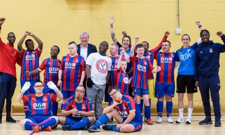 Roy Hodgson surprises Down's syndrome Eagles team