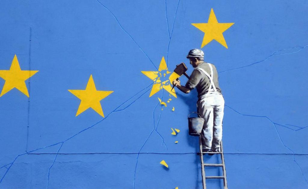 Banksy wades in on Brexit