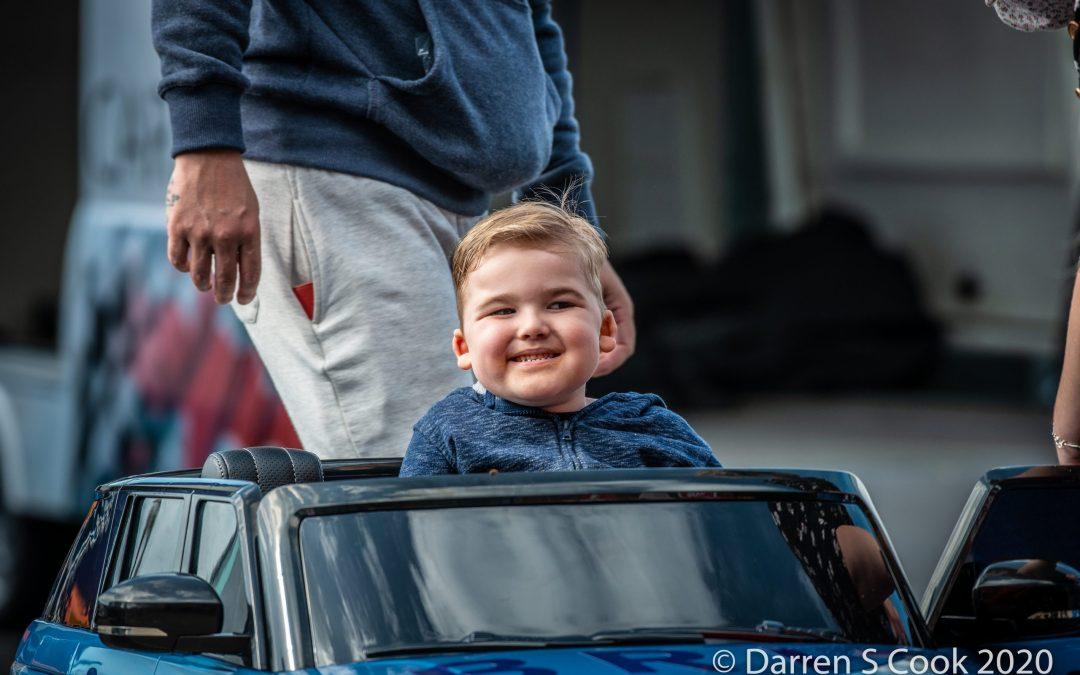 Team BRIT gift car to 5-year-old boy