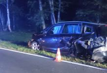 Wypadek koło Krosna Odrzańskiego
