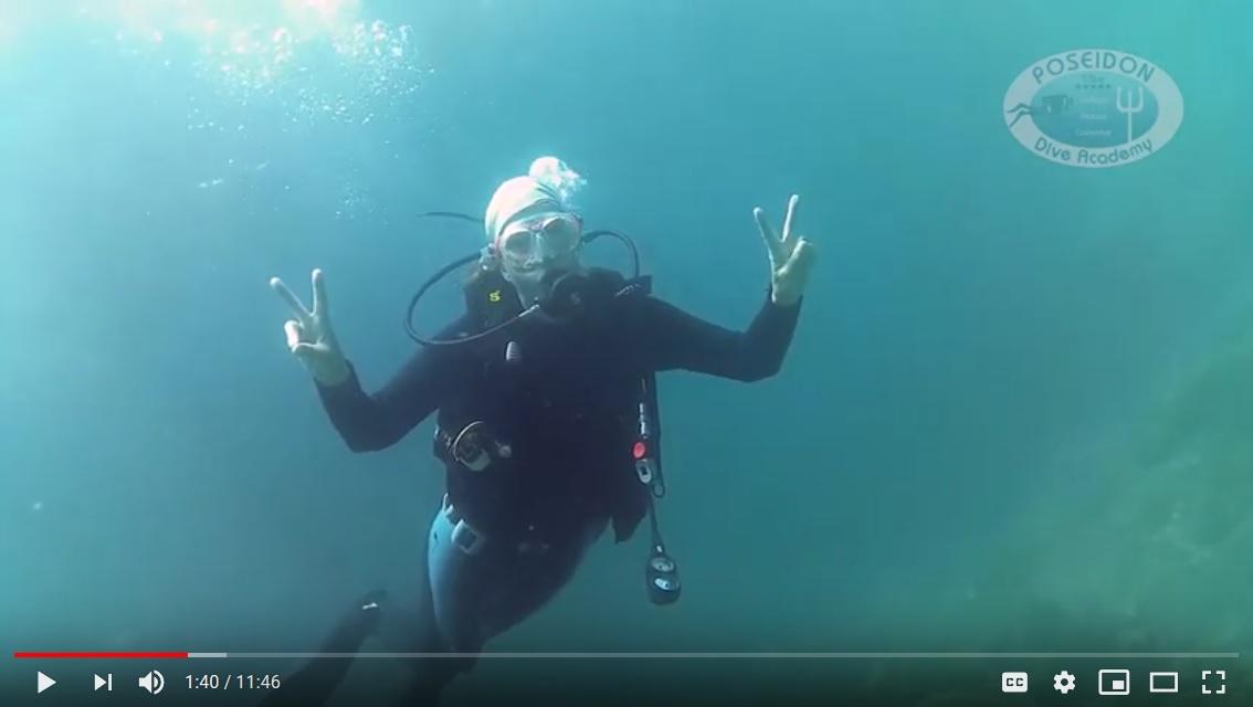 Dörthe Scuba Diving Course CMAS 1*