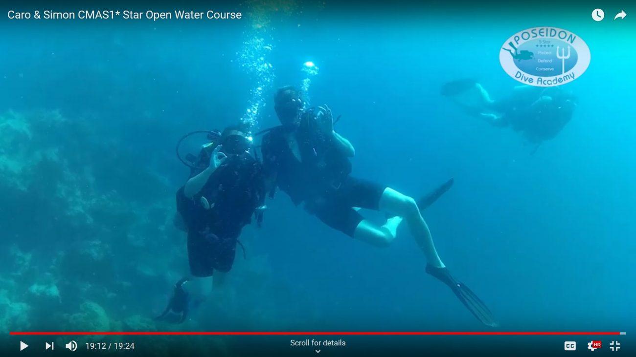 Simon & Caro Scuba Dive Course