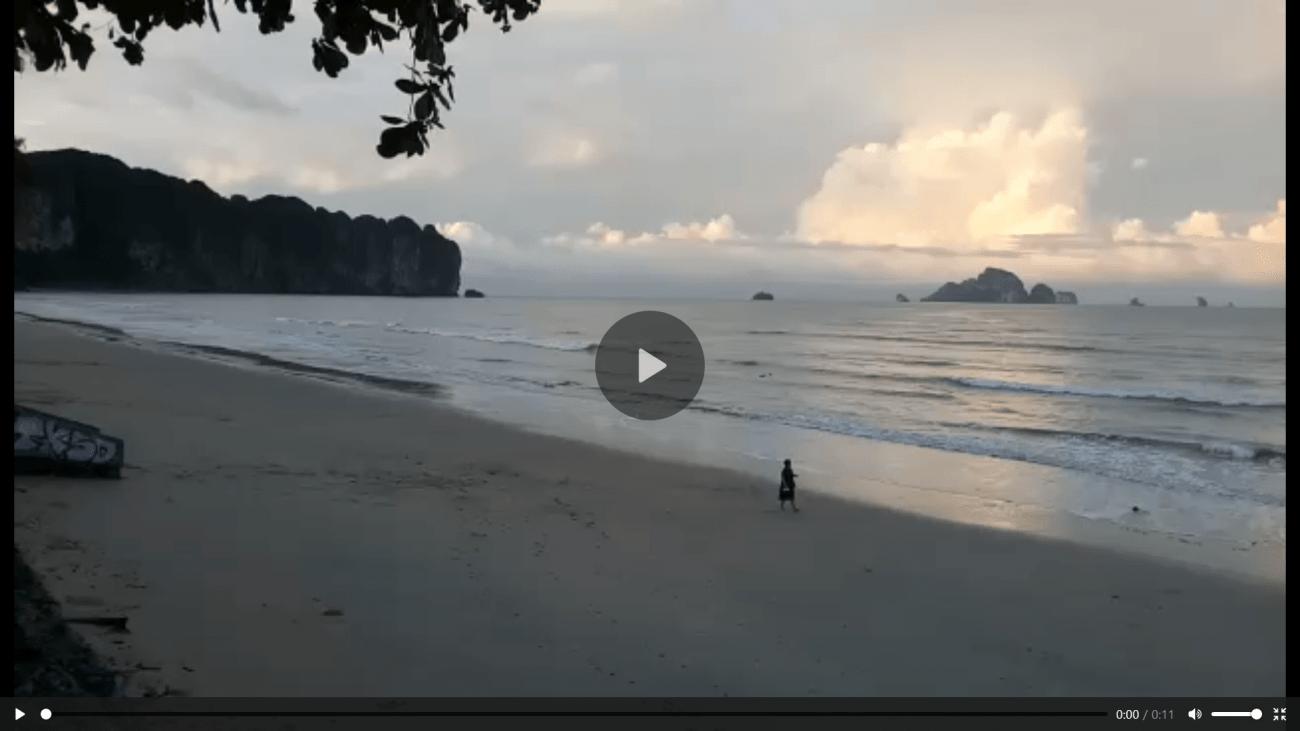 Ao Nang Beach Video