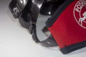 Mask Band Red attached Detail (Mask not included)
