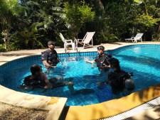 Formulaire de contact Dive Course Pool