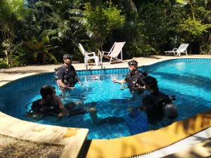 Dive Course Pool Scuba Diving Krabi