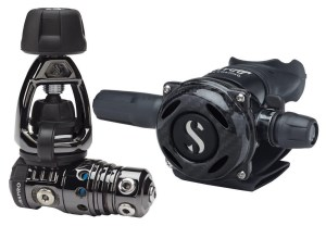 SCUBAPRO MK25 EVO/A700 Black Tech Scuba Regulator