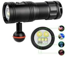 TrustFire Video Flashlight Underwater Video Light