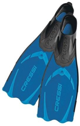 Cressi Pluma blue Full Foot Fins