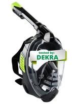 Khroom DEKRA Masque de plongée en apnée intégral