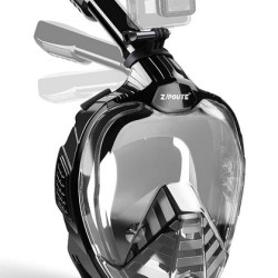 ZIPOUTE Snorkel Mask Full Face