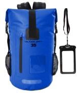 Ultra Dry Adventurer Sac à dos étanche avec pochette étanche pour téléphone