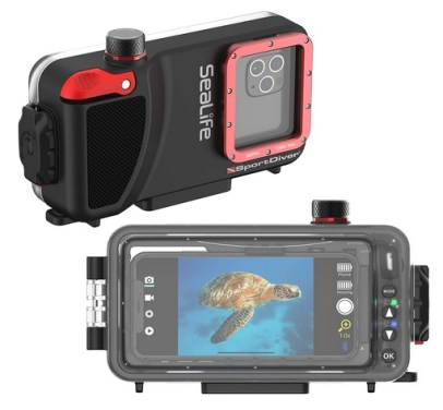 Waterproof Scuba Diving Sealife SportDiver Phone Case Underwater Photography Compatible with iPhone