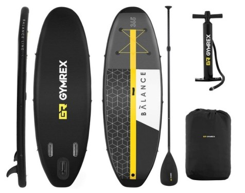 GR Gymrex Planche De Sup Stand Up Paddle Gonflable