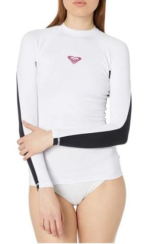 Roxy Xy Ls manches longues Surf féminin T-shirt