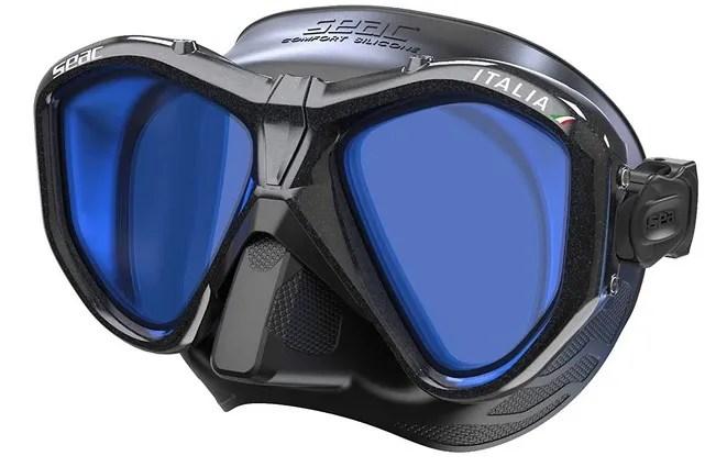 SEAC Italia Mask tinted lens