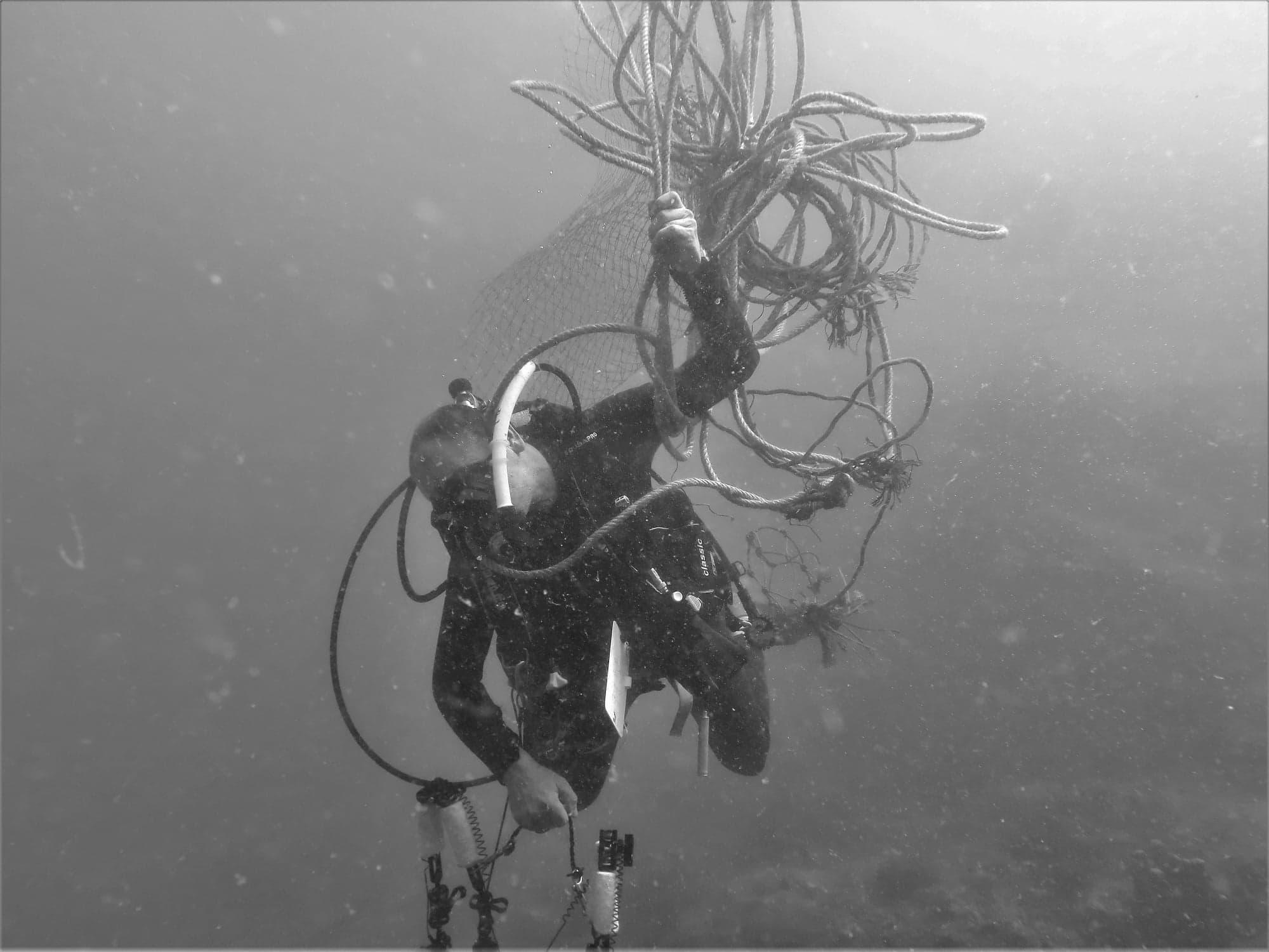 Underwater Cleanup Daniel