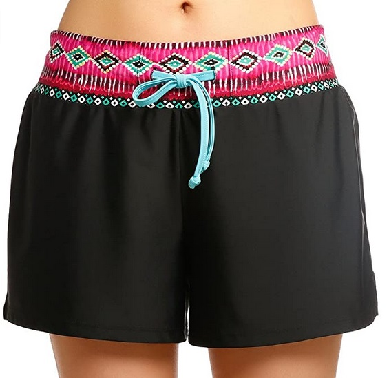 iDrawl Damen Beach shorts