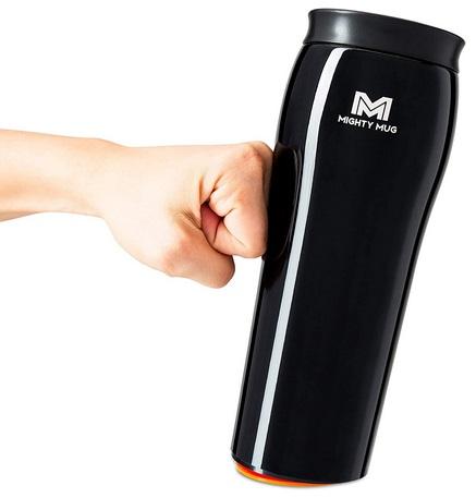 Mighty Mug Stainless Steel 16oz Unspillable Travel Mug