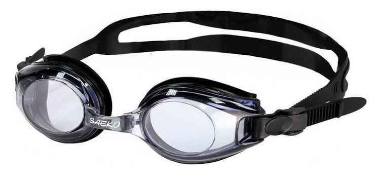 Swimming goggles farsighted and nearsighted prescription lenses