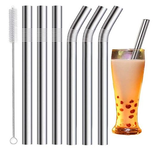 Vannise Stainless Steel Boba Straws
