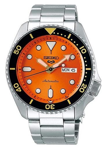 SEIKO 5 Sports 24-Jewel Automatic Dive Watch