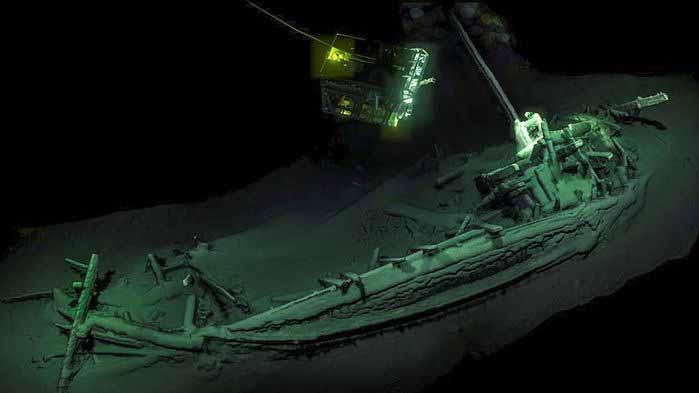 ancient Greek shipwreck