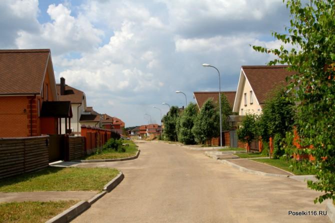 Уютный вид улиц.