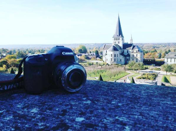 Une photo en directe de nos dernières vacances dans le parc régional des boucles de la Seine !