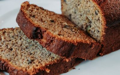 Banana Bread (Don't toss those black ones!!)