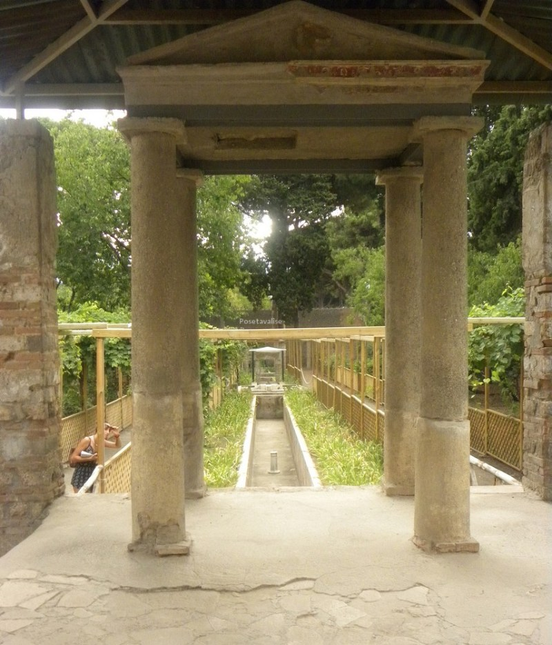 Jardin Octavius Quartio Pompéi