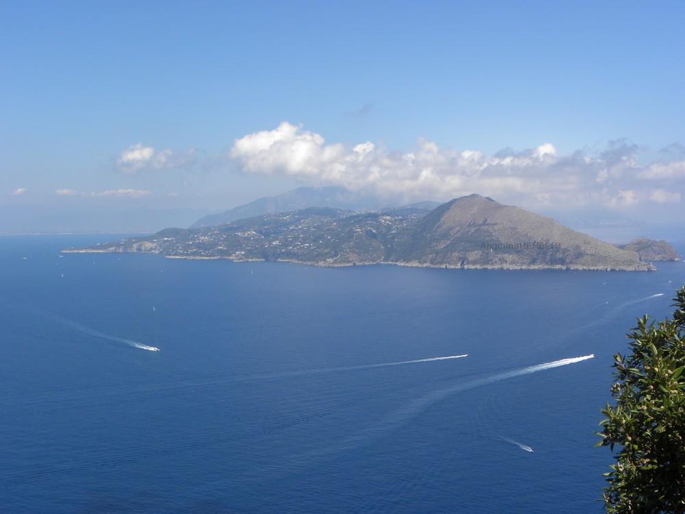 Vue sur Sorrente Capri
