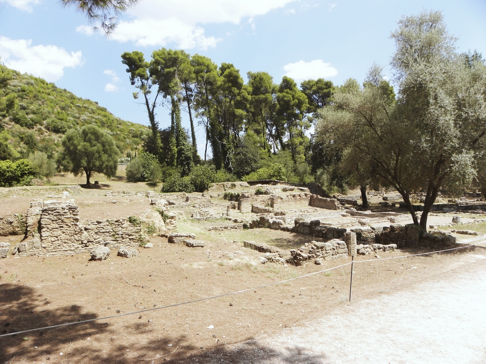 site archeologique olympie grece