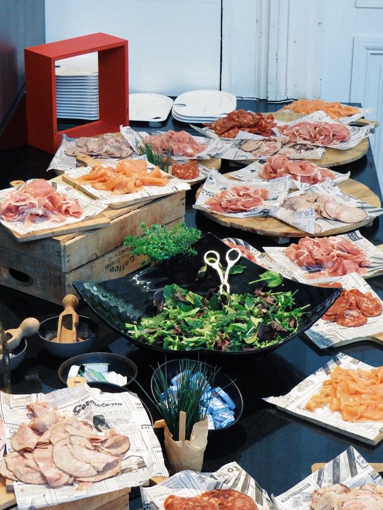 buffet salé radisson blu nantes brunch
