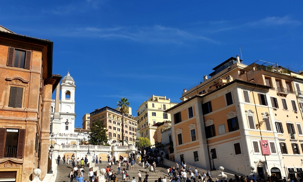 place d'espagne rome italie blog voyage