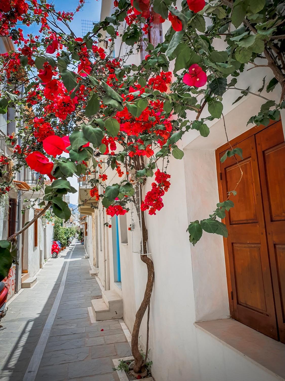 rethymnon village coloré crete grece