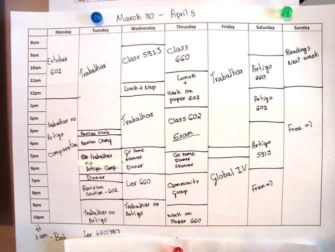 Como organizar seu tempo de forma eficiente
