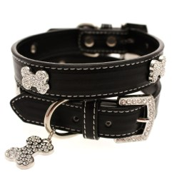 black-diamante-bone-collar