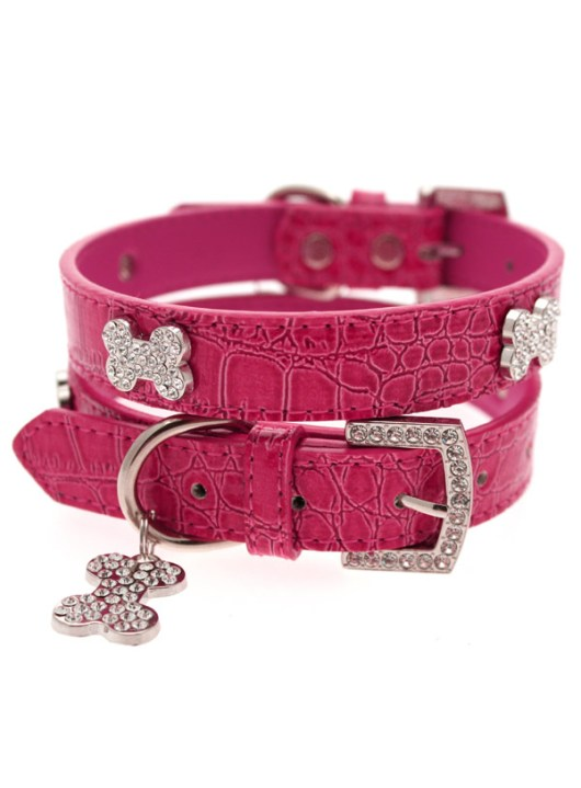 hot-pink-diamante-bone-collar