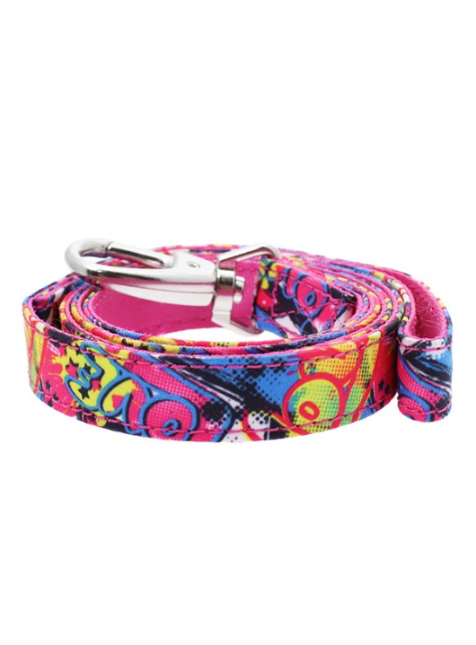 pink-graffiti-fabric-dog-lead