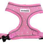 Crystal Airmesh Dog Harness In Pink