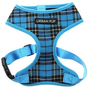 Blue-Tartan-Dog-Harness
