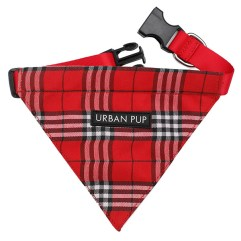 Red-Tartan-Dog-Bandana-Collar