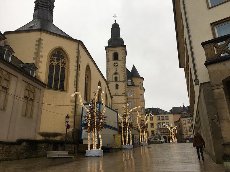 漫步盧森堡老城