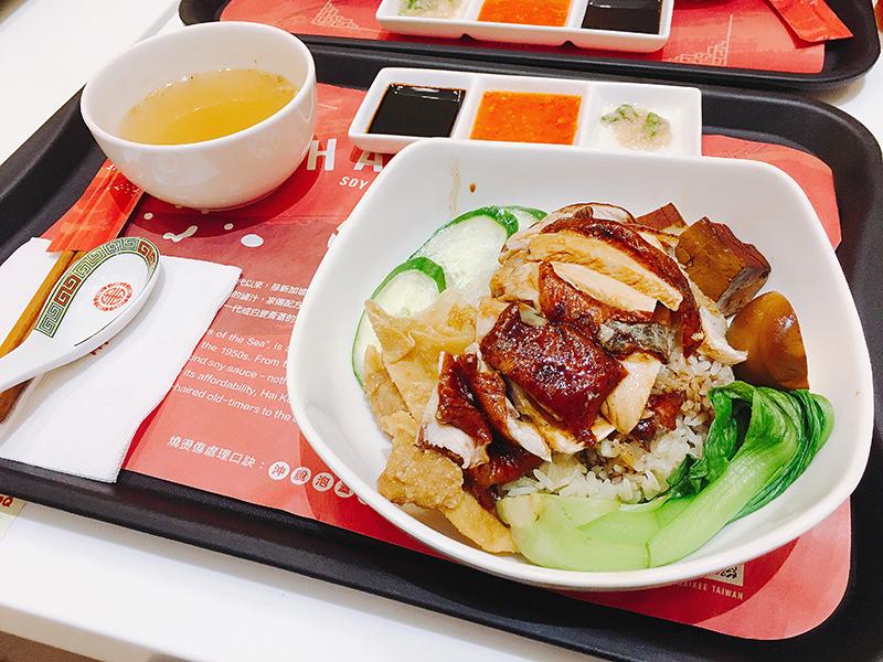 海記醬油雞sogo忠孝店