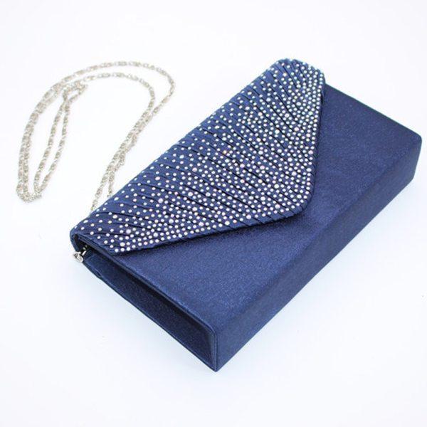 Evening Satin Envelope Bag