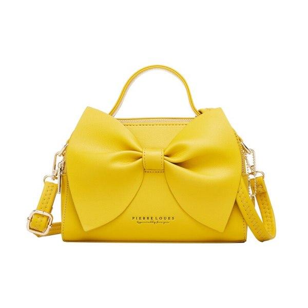 Elegant Women Leather Handbags Female Shoulder Crossbody Bags for Women Handbags High Quality Ladies Messenger Hand Bags Bow NEW