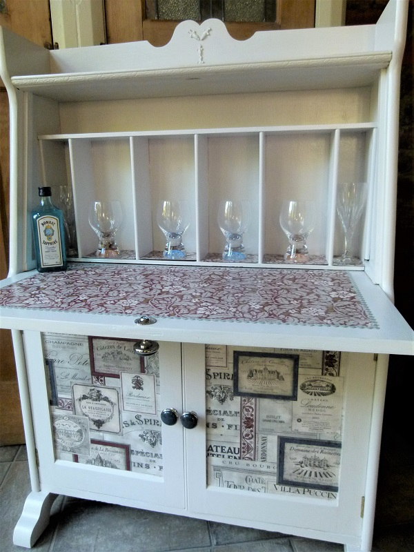 Upcycled Drinks Cabinet Ebay